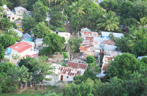 A village in the Dominican Republic