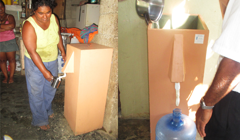 Biosand Water Filters in the Dominican Republic