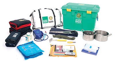 ShelterBox: Contents
