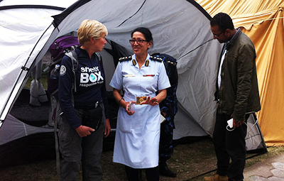 Rotary ShelterBox in Nepal