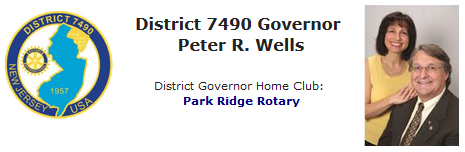 Rotary District 7490 Governor Peter Wells